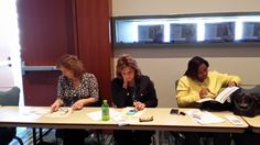 Lee Parker - Angela Bayes - Tina Garrett being engaged in the Program Governance session