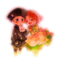 Hetalia_Chibitalia X HRE<<<It is your fucking fault that I am crying right now!!!