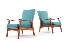 D A Lewis Armchairs - Mr. Bigglesworthy Designer Vintage Furniture Gallery