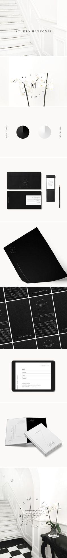 Brand Identity: Studio Mattonai — ESSE CREATIVE #brandidentity #branding #design