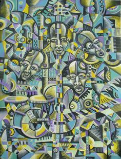The Blues Band by Angu Walters