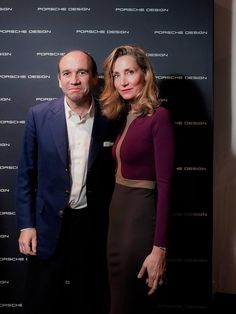 Marie Moatti looking stunning in S-Dress Anais at the opening of Porsche Design store in London  http://www.sdress.com/anais
