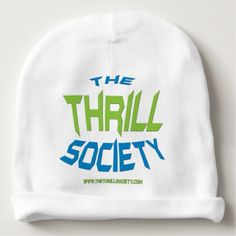 The Thrill Society Logo Squeezed Design Baby Beanie - accessories accessory gift idea stylish unique custom