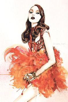 Carla-Han-Alexander-McQueen-Spring-2012