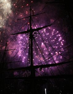 Purple Fireworks.