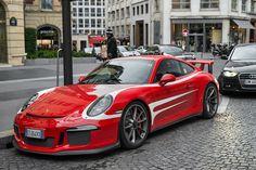 Porsche 911 991 GT3.