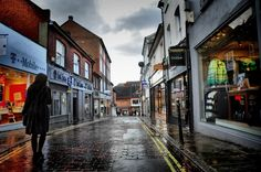 Guildford on a rainy day