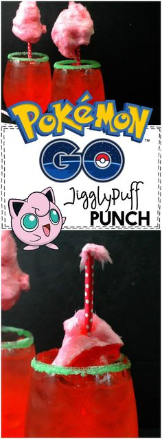 Oh, the kids are JUST going to love this Jigglypuff punch inspired by Pokemon… Pokemon Go, Pokemon Party, Pokemon Birthday, Birthday Party Drinks, Party Favors, Birthday Ideas, 10th Birthday, Pokemon Recipe, Green Food Coloring