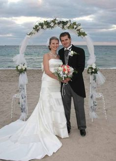 Lighted wedding arch outdoor wedding summer wedding pinterest archway decor google search simple wedding junglespirit Image collections