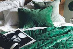couvre lit linum Jeté de lit simple, légèrement matelassé, avec dessus en velours  couvre lit linum