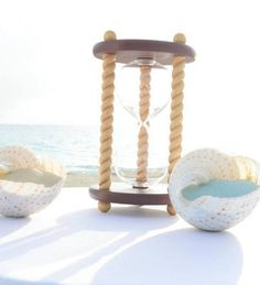 Heirloom Hourglass Unity Sand Ceremony Hourglass The Newport Wedding Unity Sand Ceremony Hourglass by Heirloom Hourglass