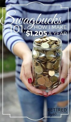 Want an extra $1,000 a year to pay for Christmas, vacation or groceries? Here's how to make money online with Swagbucks! - Living on Fifty http://www.retiredby40blog.com/2016/03/12/swagbucks-101-how-to-earn-a-day-with-swagbucks/