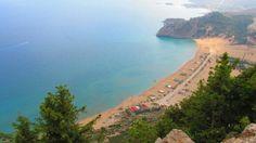 View of Tsambika Beach