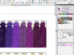 Illustrator Color Charts part 1 of 3