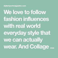 We love to follow fashion influences with real world everyday style that we can actually wear. And Collage vintage is one of our faves! Blush Evening Dress, Collage Vintage, Everyday Fashion, How To Wear, Style, Swag, Outfits, Every Day Carry
