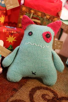 soft knit monster
