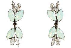 Swarovski Crystal Quinn Earrings, Mint on OneKingsLane.com