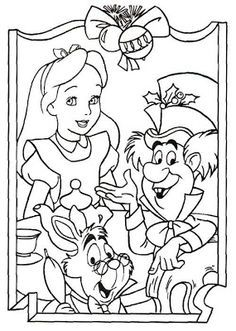 March Hare Coloring Page Grab your HD Coloring Pages http
