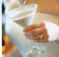 Godiva Chocolate Martini  2 oz. Godiva white chocolate liqueur 1 oz. Amarula Cream liqueur 1 oz. Gosling's Black Seal rum   How to Make It  Shake all ingredients vigorously over ice and strain into a chilled cocktail glass.