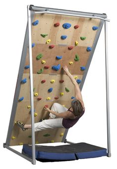 How to build a rock climing wall.......Instructions here>>>>>>     http://www.atomikclimbingholds.com/build-a-climbing-wall
