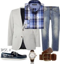sportcoat/jeans/boat shoes...<3