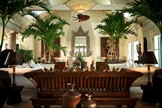 Tropical luxury awaits in the Bahamas Tropical Interior, Tropical Design, Tropical Style, Tropical Decor, Tropical Houses, Tropical Bedrooms, Asian Interior, Modern Tropical, Tropical Colors