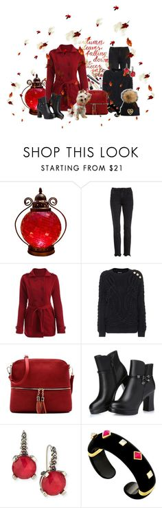 """""""Autumn Leaves ... Falling Down !!"""" by fashiongirl-26 ❤ liked on Polyvore featuring Frame, Balmain, Stephen Dweck and Margot McKinney"""