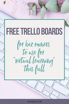 Are you an online business owner and also navigating virtual learning for your kids this fall.  It can be a lot to manage, but I have found that Trello boards are a sure way to stay organized and manage schedules. I have created a Master planning and Weekly Planning Trello board for Virtual Learning for your kids this fall. Click here for instant access to these boards.  #virtuallearning #backtoschool #timemanagement #bossmom #projectplanning #onlinebusinesstips