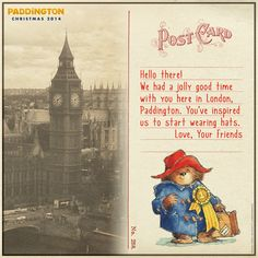 Look what we received in the mail today! Paddington is loved all around the world. | Paddington