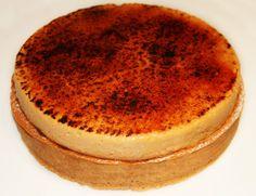 La Cuisine de Bernard : Tarte Poire Chocolat, Crème Chiboust Caramélisée