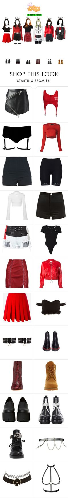 """""""[HOT] StarZ - I Don't Need Show Music Core"""" by starz-official ❤ liked on Polyvore featuring Kenzo, Calvin Klein Collection, River Island, Off-White, Alexander Wang, adidas, Boohoo, Miu Miu, Bordelle and Frances Valentine"""