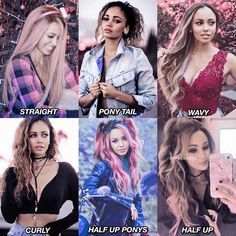 [ vanessa morgan's hair styles ] which one is your favorite??