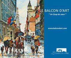 Le Balcon D'art (www.balcondart.com)  Depuis plus de vingt-cinq ans, le Balcon d'art à Saint-Lambert au Québec est un phare du monde de l'art et du bon goût. Né d'un rêve en octobre 1985, c'est aujourd'hui une force importante, un point de référence.   Fier de montrer les œuvres de plusieurs des meilleurs peintres du Canada, de la relève  et des Grands Maîtres canadiens et internationaux, nous ouvrons les bras à tous ceux dont l'âme cherche l'art et qui rêvent des chefs-d'œuvres qui ornent…
