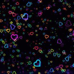 Reluzentes corações