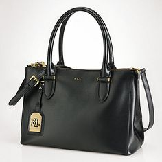Buy Lauren Ralph Lauren Newbury Double-Zip Satchel Online at johnlewis.com