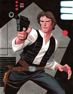 Bruce Timm Han Solo