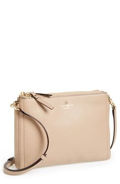 kate spade new york 'cobble hill - lilibeth' crossbody bag available at #Nordstrom