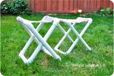 3. Camp Chairs - 12 Brilliant PVC Pipe DIY Projects … |Lifestyle