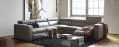 Maison Éthier - 310046-COLLECTION A 2000-Mobilier de salon-Sofa et causeuse inclinable
