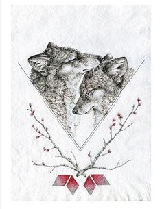 Hey, I found this really awesome Etsy listing at https://www.etsy.com/listing/178840582/wolf-art-print-valentines-day-gift-11x14