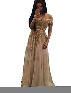 Danadress Womens 2017 Tulle Appliques Evening Dresses Sweetheart Long Prom Dress 30 * ** AMAZON BEST BUY ** #HomecomingDresses2017