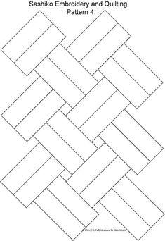 Sashiko Pattern 2: Sashiko Pattern 4