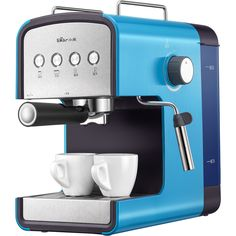Cheap coffee maker, Buy Quality espresso machine directly from China coffee machine Suppliers: Coffee Machine Espresso Machine Coffee Maker High Quality Home Appliances Semi-automatic Coffee Maker Machine, Espresso Coffee Machine, Great Coffee, Coffee Art, Cheap Coffee Maker, Home Coffee Machines, Homemade Smoker, Food Truck Design, Maker Shop