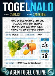 Angka Ikut 4D Togel Wap Online TogelNalo Samarinda 21 April 2017
