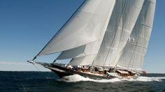 Sailing yacht Meteor returns to Royal Huisman yard for refit