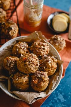 These whole wheat sweet potato banana muffins are perfect for breakfast or as a healthy snack. Smear with butter or drizzle with some quality honey. Best served warm!