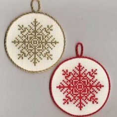 Free cross stitch snowflake chart