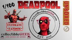 This week my dad joins in the fun as we tear into 1 out of 100 Limited Edition Deadpool Caches from CollectibleGeek.  At a cost of around $50 we scored over $95 worth of epic freakin loot! http://www.collectiblegeek.com/