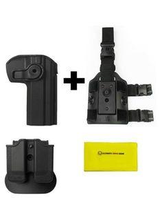 Z2030-MP03 IMI Defense Black Right Hand Double Magazine Pouch SPRINGFIELD XD 40