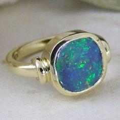 Opal Rings, Gemstone Rings, Silver Rings, Designer Engagement Rings, Gold Engagement Rings, Blue Wedding, Druzy Ring, Jewelry Making, Gemstones